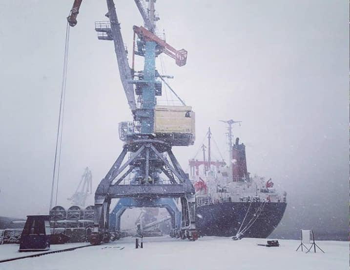 из-за непогоды ограничили работу порта
