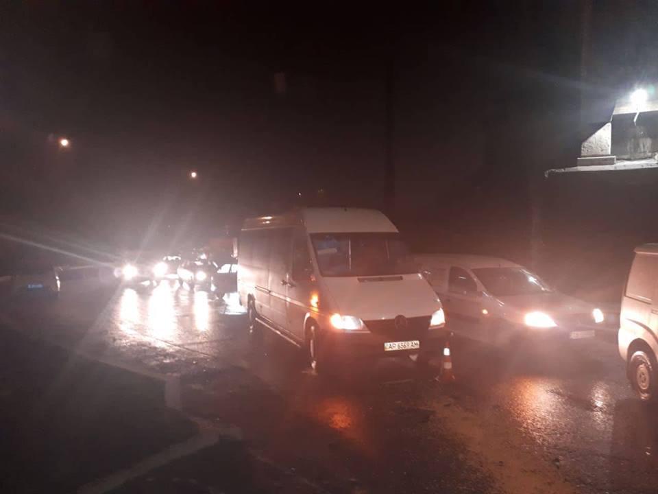 полиция сообщила подробности ДТП остановившего движение на Правый берег