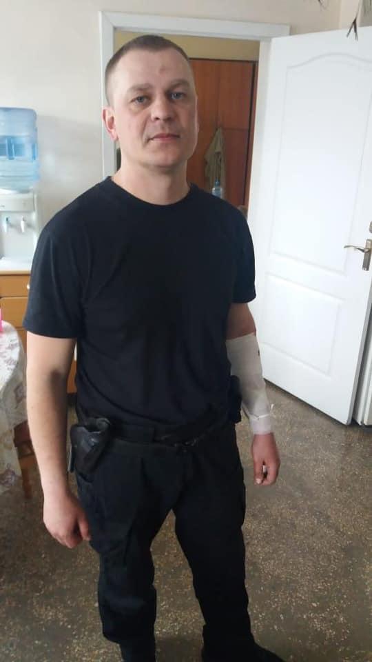 В Запорожской области в полицейских кинули гранату: двое человек пострадало (ФОТО)