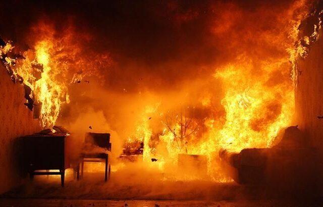 В Днепровском районе во время пожара погибла пенсионерка