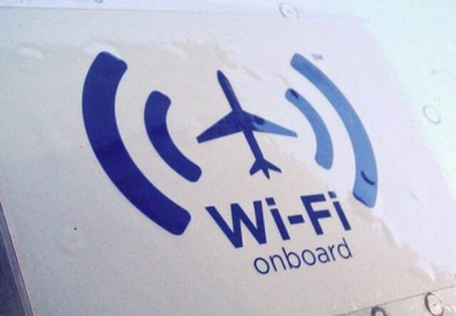 Украинские авиакомпании смогут использовать интернет на борту