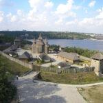 ostrov Khortitsa Khortitsya zapovednik Zaporozhskaya Sech'