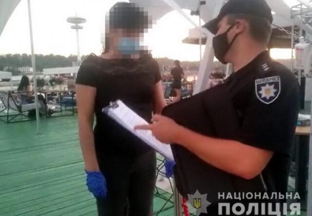 Politsiya provela nochnoy reyd po kafe v Zaporozh'ye, - boleye 30 zakryli