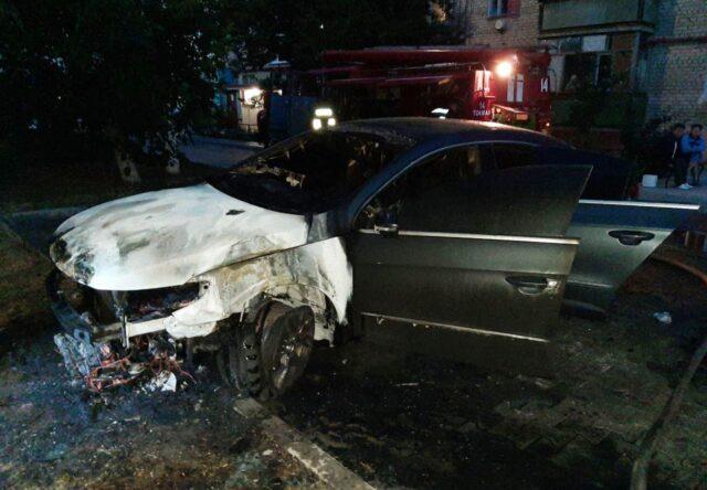 Politsiya vozbudila ugolovnoye delo po faktu sozhzheniya avtomobilya v Tokmake