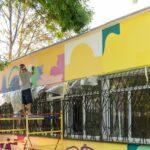 V Zaporozh'ye poyavitsya yeshche odin krasochnyy mural na fasade muzykal'noy shkoly