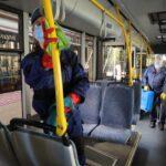 В Запорожье проводится дезинфекция общественных мест