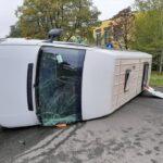 Сегодня утром в Шевченковском районе произошло ДТП с участием легкового автомобиля и пассажирской маршрутки.