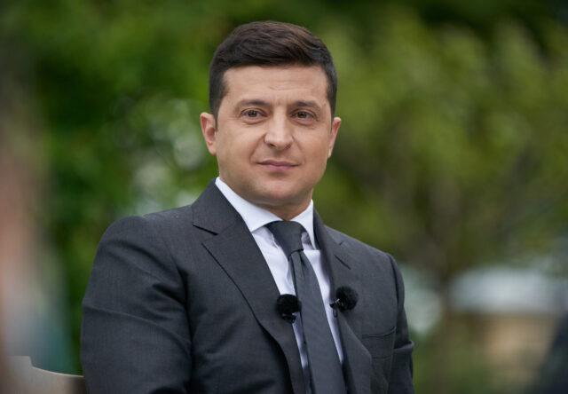 Президнт Украины Владимир Зеленский