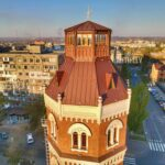 Мелитопольский фотограф показал водонапорную башню с высоты птичьего полета