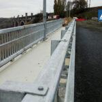На съезде с моста Преображенского новое асфальтовое покрытие