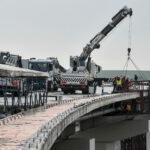 Запорожские мосты готовят к установке ограждения