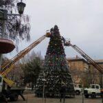 В Запорожье городскую новогоднюю елку откроют 19 декабря