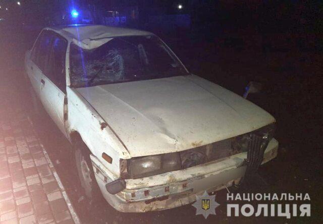 В Запорожской области водитель на автомобиле сбил велосипедиста