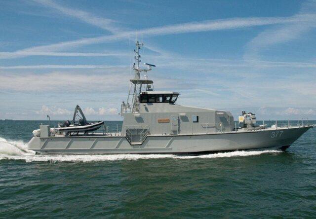 Французкая компания строит военные катера для охраны Бердянска