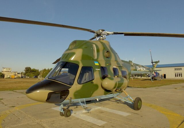 """""""Мотор Сич"""" разрабатывает вертолет для морской авиации"""