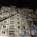 На Бабурке в Запорожье ночью сгорела квартира