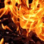 В Запорожской области потушили пожар в жилом доме