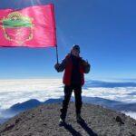 Запорожец покорил вершину вулкана в Северной Америке