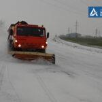 В Запорожской области расчистили заснеженные дороги, - фото