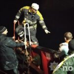В Запорожье на грузовом судне загорелась каюта, - фото