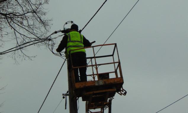 В Запорожье произошла авария на линии электросетей