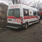 В Запорожье скорая помощь застряла в грязи