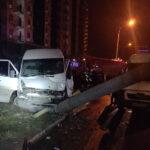 В Запорожье в ДТП с маршруткой пострадали 14 пассажиров