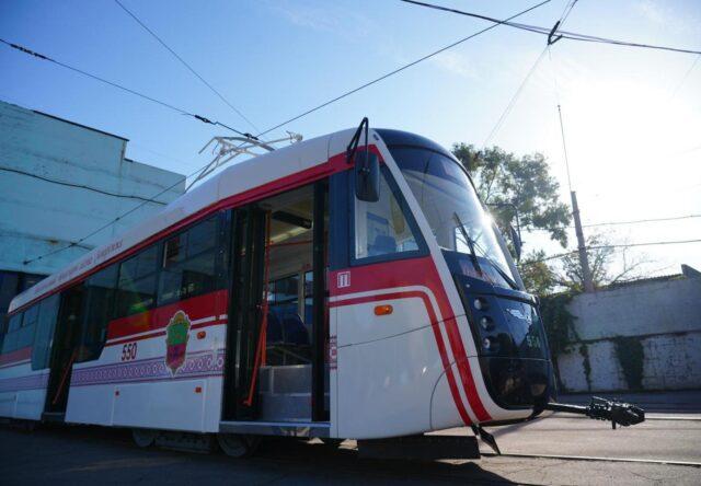 В Запорожье изменили движение трамвая №14