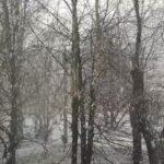 Снегопад в Запорожье: город накрыло сильными осадками, - ВИДЕО
