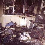 В Запорожье на Бабурке в пожаре погиб человек