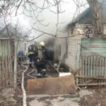 В Днепровском районе во время пожара погиб мужчина