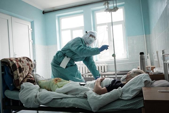 Заповненість ліжок у лікарнях Запоріжжя досягла критичного рівня