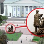 Запоріжжя пам'ятник Шевченко