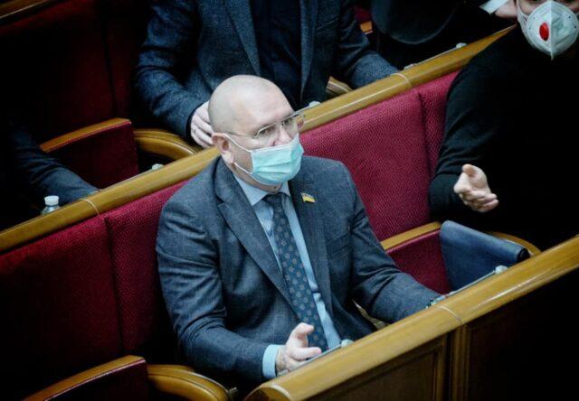 Запорожье Слуга народа Евгений Шевченко исключение