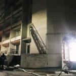 Запорожье Запорожская инфекционная больница пожар следствие