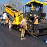Укравтодор трасса ремонт Запорожье - Кропивницкий