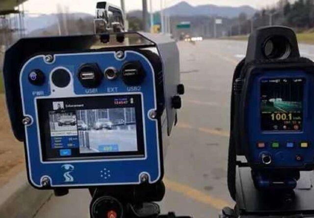 Радар фотофиксация трасса Запорожская область полиция
