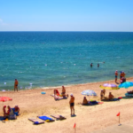 Запорожье Кирилловка Приморск Бердянск Азовское море курорты
