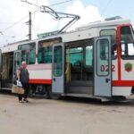 Запорожье трамвай парк транспорт