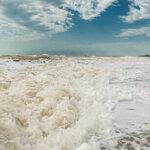 Ветер волны Азовское море