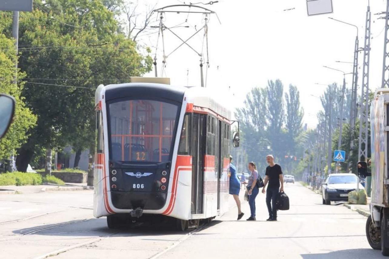 В Запорожье к концу года запустят трамвай №12