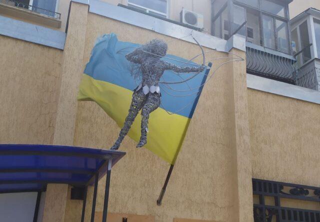 Фея-амазонка скульптура квест Бердянск Запорожская область