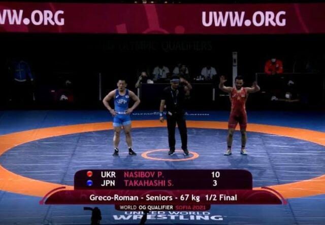Запородец Парвиз Насибов в финале Олимпийских игр